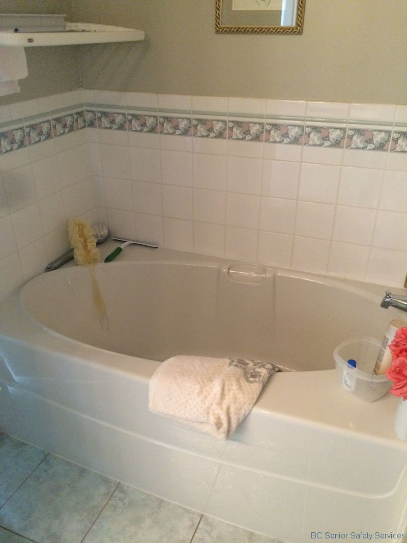 Project 60 - Tub Before