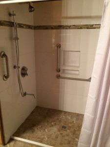 Contact Us For More Information On Our Custom Built, Safe, Accessible Tiled  Showers.