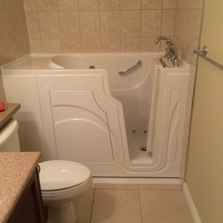 walk in tubs & easy entry showers | safe bathing options for seniors